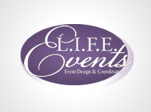 L.I.F.E. Events, LLC. Logo
